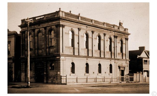 Old Freemasons' Hall c1910 - Collection of Ian Bock