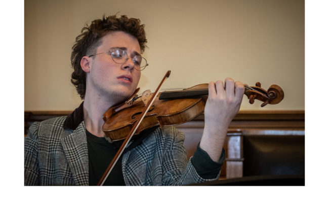 Harry - Violinist -  Aus National Academy of Music, Sth Melb - Lesley Bretherton