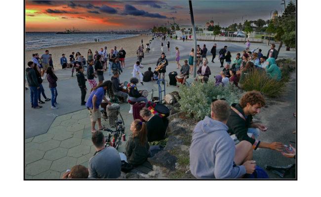 St Kilda Beach Music Performers - John Spring