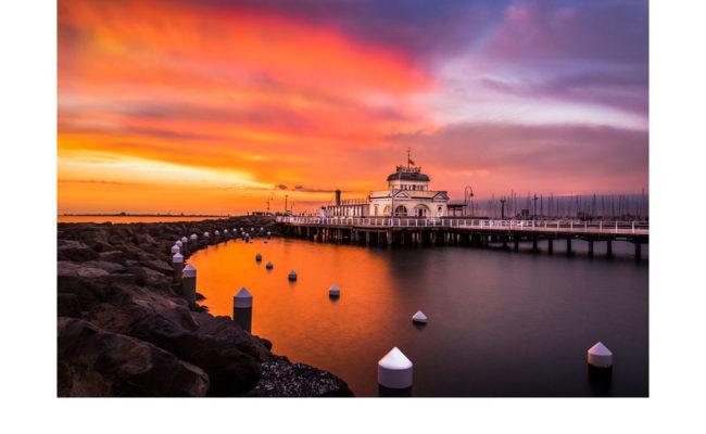 St Kilda Sunset - Sue Brunialti