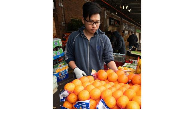 Sth Melb Market - Kenneth Bretherton