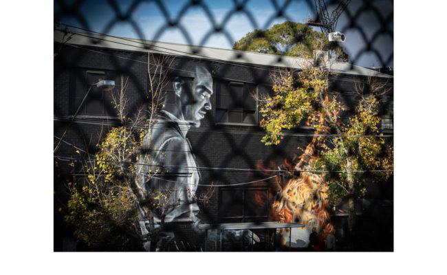 Street Art @ Sth Melb Market - Mark Devaraj