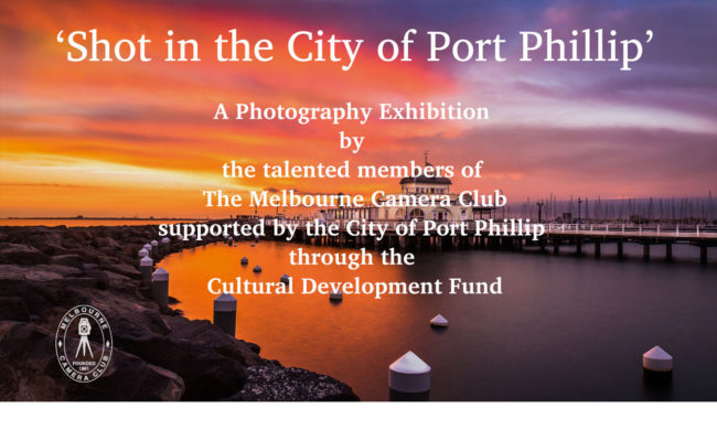 Shot in the City of Port Phillip Exhibition, 2018